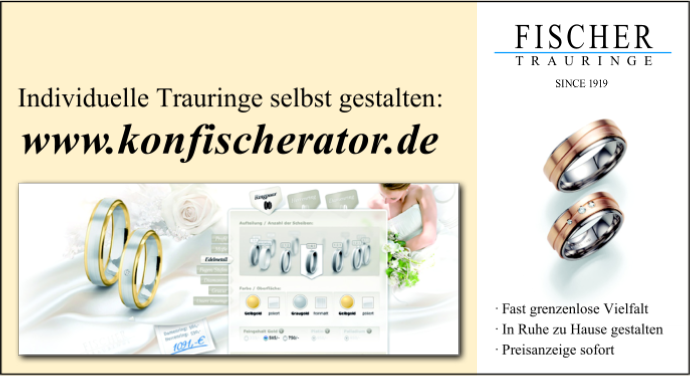 Trauringe - Fischerator